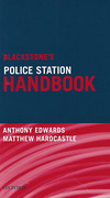Cover of Blackstone's Police Station Handbook
