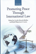 Cover of Promoting Peace Through International Law