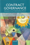 Cover of Contract Governance: Dimensions in Law and Interdisciplinary Research
