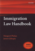 Cover of Immigration Law Handbook 2015