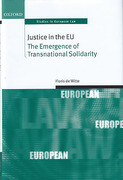 Cover of Justice in the EU: The Emergence of Transnational Solidarity