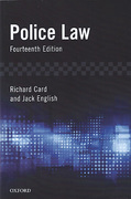 Cover of Police Law