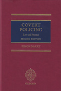 Cover of Covert Policing: Law and Practice