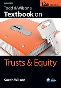 Cover of Todd & Wilson's Textbook on Trusts & Equity