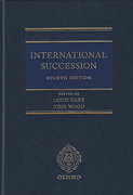 Cover of International Succession