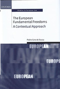 Cover of The European Fundamental Freedoms: A Contextual Approach