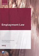 Cover of LPC: Employment Law 2015