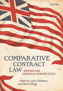 Cover of Comparative Contract Law: British and American Perspectives