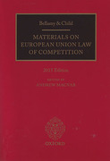 Cover of Bellamy & Child: Materials on European Union Law of Competition 2015