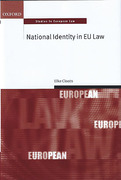 Cover of National Identity in EU Law