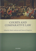 Cover of Courts and Comparative Law