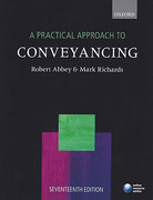 Cover of A Practical Approach to Conveyancing