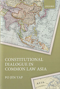 Cover of Constitutional Dialogue in Common Law Asia