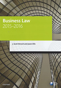 Cover of LPC: Business Law 2015 - 2016