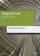 Cover of LPC: Property Law 2015 - 2016