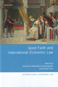 Cover of Good Faith and International Economic Law