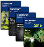 Cover of Blackstone's Police Q&A: Pack 2016