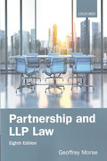 Cover of Partnership and LLP Law