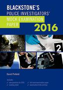 Cover of Blackstone's Police Investigators' Mock Examination Paper 2016