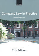 Cover of Bar Manual: Company Law in Practice