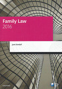 Cover of LPC: Family Law 2016