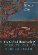 Cover of The Oxford Handbook of International Law in Armed Conflict