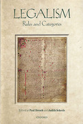 Cover of Legalism: Rules and Categories