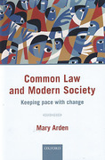 Cover of Common Law and Modern Society: Keeping Pace with Change