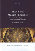 Cover of Shari'a and Muslim Minorities: The Wasati and Salafi Approaches to Fiqh al-Aqalliyyat al-Muslima
