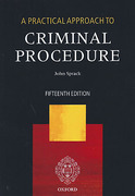 Cover of A Practical Approach to Criminal Procedure