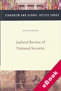 Cover of Judicial Review of National Security (eBook)