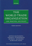 Cover of World Trade Organization: Law, Practice and Policy