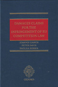 Cover of Damages Claims for the Infringement of EU Competition Law