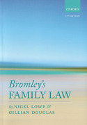 Cover of Bromley's Family Law
