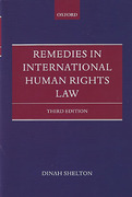Cover of Remedies in International Human Rights Law