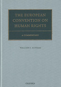 Cover of The European Convention on Human Rights: A Commentary