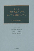 Cover of The 1949 Geneva Conventions: A Commentary