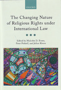 Cover of Changing Nature of Religious Rights under International Law