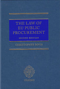 Cover of The Law of EU Public Procurement