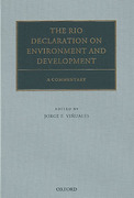 Cover of The Rio Declaration on Environment and Development: A Commentary