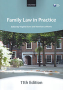 Cover of Bar Manual: Family Law in Practice