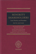Cover of Minority Shareholders: Law, Practice and Procedure