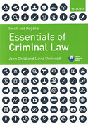 Cover of Smith & Hogan's Essentials of Criminal Law