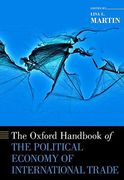Cover of The Oxford Handbook of the Political Economy of International Trade