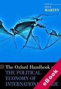 Cover of The Oxford Handbook of the Political Economy of International Trade (eBook)