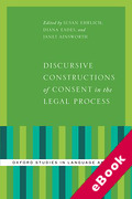 Cover of Discursive Constructions of Consent in the Legal Process (eBook)