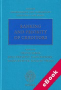 Cover of Ranking and Priority of Creditors (eBook)
