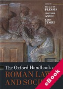 Cover of The Oxford Handbook of Roman Law and Society (eBook)