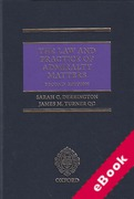 Cover of The Law and Practice of Admiralty Matters (eBook)