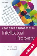 Cover of Economic Approaches to Intellectual Property (eBook)